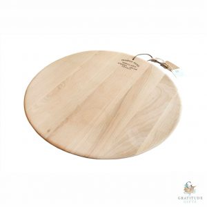 Barrel Top Styled Cheese Platter Board