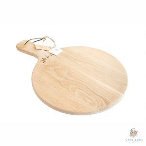 Joie de Vivre Style, Weathered Oak Pizza Paddle