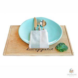 The Bon Appetit Placemat