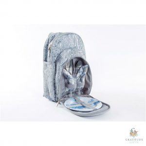 Grey-Washed 2 Person Cooler Backpack