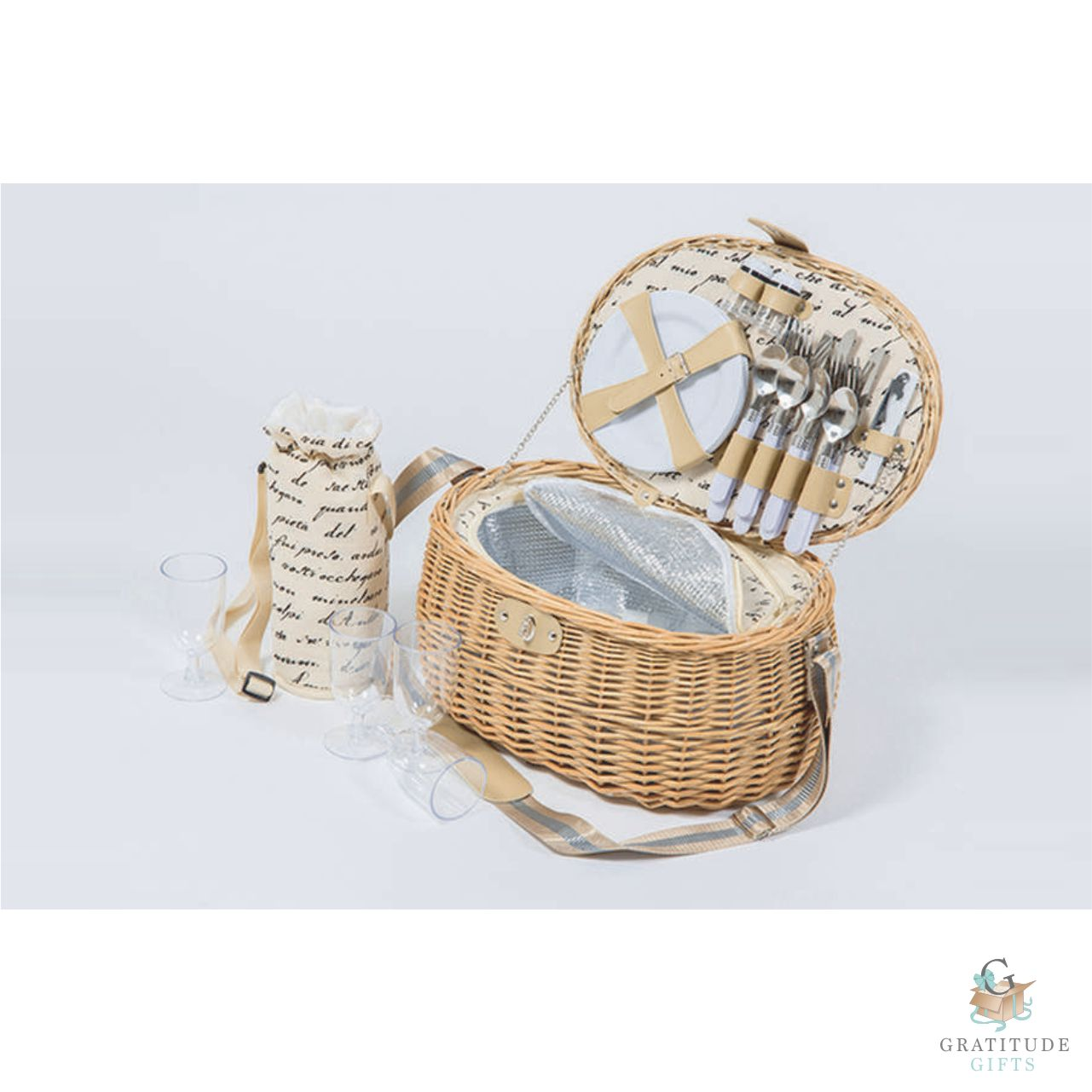 Fantasy 4 Person Picnic Basket